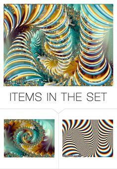 """Fractals"" by chauert ❤ liked on Polyvore featuring art"