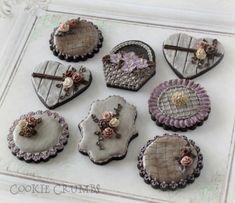 rustic vintage cookies   Cookie Connection