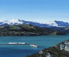 Limited Editions Prints are now available for the stunning 'Sherbet on Mt Herbert'.  This painting is a view from Lyttleton looking out toward Diamond Harbour with Mt Herbert in the background.  This price includes framing.  It will be stretched over wooden stretcher bars.  Print Size 300mm(H) x 400mm(W) x 40mm(D) Giclee varnished.   If you do not have a paypal account please contact me at art.mcgettigan@gmail.com for another payment method.  (Free shipping worldwide)  What is a Giclee ...