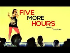 KARINA ROCHA - DANCE LIVE CLASS  - Deorro x Chris Brown - FIVE MORE HOURS - YouTube