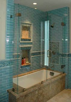 love the teal tile