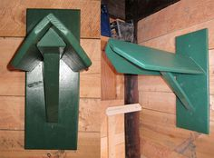 suustainable: Tack Room saddle racks. But maybe leave them just the color of the wood with a coat of varnish
