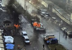 Car bombing in TurkeySuspected Kurdish militants on Thursday...  Car bombing in Turkey  Suspected Kurdish militants on Thursday opened fire at police who stopped them at a checkpoint in the western city of Izmir before detonating their explosives-laden vehicle the provinces governor said. A policeman and a courthouse employee were killed in the attack while two assailants were shot dead.  Gov. Erol Ayyildiz said preliminary indications pointed to the Kurdistan Workers Party or PKK which has…