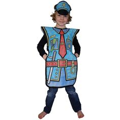 Dressing up meets drawing and colouring!! A combination of the biggest creative hobbies of children; colouring and dressing up! Complete kit includes costume comprising of outfit and head gear, and costume crayons.