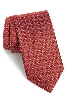 J.Z. Richards Geometric Silk Tie
