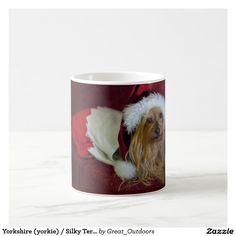 Yorkshire (yorkie) / Silky Terrier Christmas Mug