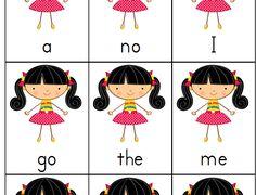Teaching Reading Using Sight Words Go Fish (free printable)