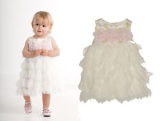"Wedding season is upon us and Biscotti has the perfect dresses for your little flower girl. Biscotti Living The Dream Dress: With a pretty pearl trimmed embroidered bodice and skirt that looks like a parfait of netting ruffles, this has to be the ultimate dress for every little princess. Biscotti Fairytale Romance Dress: Fluttery netting … Continue reading ""Biscotti Dresses for Your Flower Girl"""