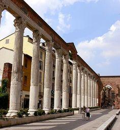 Le colonne di San Lorenzo////Milano <3
