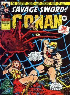 Marvel UK, Savage Sword of Conan #4