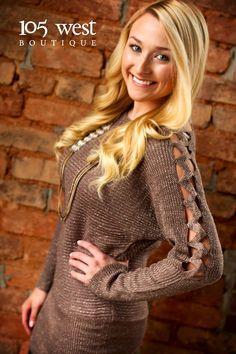 """The """"Sasha"""" Sweater $39.99 ~ S/M, M/L available at 105 West Boutique located in Abbeville, SC. (864)366-WEST. Shipping $5. Find us on Facebook and Instagram!"""