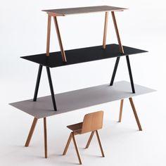 Hay Design Copenhague CPH10 Tisch Eiche/Grau 160 x 80 cm Design Shop - Found4You