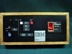 IBM Vintage 3814 Switching Management System Operator Panel