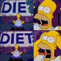Where I start the D word (Diet) - insaneheadspace