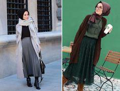 Tesettür Giyim Günlük Kıyafet Modelleri 2017