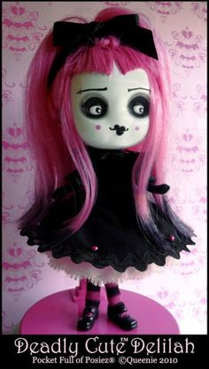 Pocket Full of Posiez Delilah Doll [32345] - $25.00 : Mystic Crypt, the most unique, hard to find items at ghoulishly great prices!