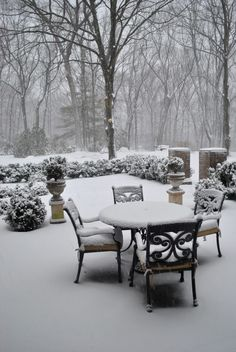 The Enchanted Home East coast winter snowstorm