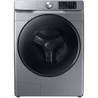 Samsung ft High Efficiency Stackable Steam Cycle Front-Load Washer (Champagne) ENERGY STAR at Lowe's. Samsung's new cu. capacity front load washer with steam eliminates stains without the need to pretreat. Self Clean+ keeps your washer drum Washer Drum, Samsung Washer, Lac Saint Jean, Stackable Washer And Dryer, Laundry Appliances, Champagne, Lowes Home, Front Load Washer, Types Of Doors