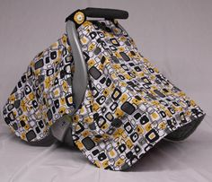 Check out this item in my Etsy shop https://www.etsy.com/listing/219350265/geo-print-baby-car-seat-canopy-gender