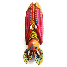 Sandia Fine Mexican Folk Art - Search Bat More Hanging Bat, Mexico Art, Indigenous Art, Mexican Folk Art, Elementary Art, Sculpture Art, Animal Sculptures, Bunt, Cool Art