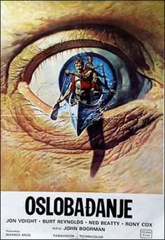"""Deliverance"" poster from Yugoslavia"