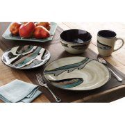 Better Homes and Gardens Trout Lodge 16-Piece Dinnerware Set