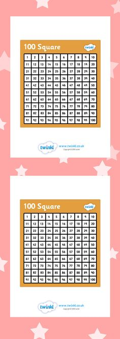 Our hundred square grid is the perfect resource to allow children access to larger numbers. This 100 square resource is great to use for a morning start in the lesson. Classroom Displays, Classroom Ideas, Numeracy Display, Ks2 Maths, Primary Resources, Teaching Aids, Math Numbers, 2nd Grade Math, Number Sense