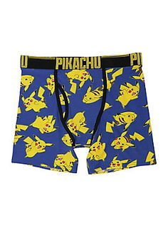 331d0a75b771 Let us be brief - these are amazing // Pokemon Pikachu Boxer Briefs Funny  Underwear