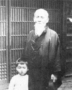 Moriteru e Morihei Ueshiba