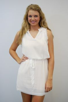 Lots of new arrivials of white dresses for Graduation!