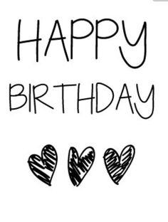 Happy Birthday Greeting Black And White 30th Quotes
