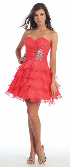 8 COLORS CUTE COCKTAIL BRIDESMAIDS HOMECOMING PROM FORMAL DRESS BALL GOWN 4- 20