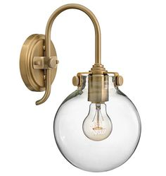 Kitchen or bath A5026_congresswallsconce_brushedcarmel_a5026