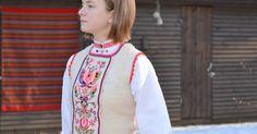 -tunisian Crochet :Muhu vestcoat