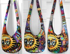 MADE TO ORDER Hobo Bag Crossbody Bag Sling Bag Hippie Purse Patchwork Crazy Quilt Boho Bag Bohemian Purse Sublime T-Shirt Patchwork by 2LeftHandz on Etsy https://www.etsy.com/listing/192862098/made-to-order-hobo-bag-crossbody-bag