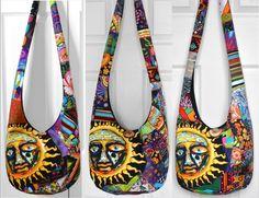 MADE TO ORDER Hobo Bag Crossbody Bag Sling Bag Hippie Purse Patchwork Crazy Quilt Boho Bag Bohemian Purse Sublime T-Shirt Patchwork by 2LeftHandz on Etsy https://www.etsy.com/listing/192862098/made-to-order-hobo-bag-crossbody-bag