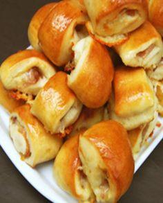Bouchées de bretzels aux prosciutto et cheddar pour 48 personnes - Recettes Elle à Table