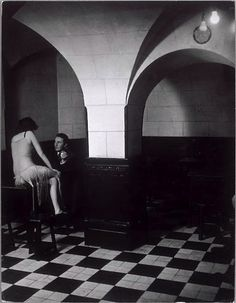 Brassaï – Maison close, Paris, 1930′s