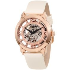 Stuhrling 156 Classic Lady Winchester Automatic Skeleton Womens Watch for sale online Emporio Armani, Daniel Wellington, Gold Watches Women, Ladies Watches, Women's Watches, Wrist Watches, Skeleton Watches, Contemporary Jewellery, Watch Sale