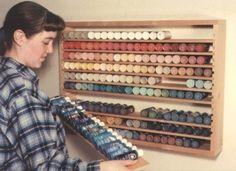 acrylic paint storage | Acrylic paint storage ideas | Storage solutions