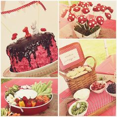 woodland themed first birthday party