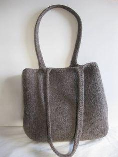Felted bag.