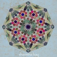 Wishing everyone a blessed and peaceful Eid. . 'Indian summer' Classic 8 fold pattern with a twist  #eidmubarak#eiduladha #peace #blessings #happiness #ameen #hajj2016 #handmade#pigments #watercolours #tranquility #islamicarts #traditionalarts #alhamdulillah  #geometricart #islamicpattern #teastained #islamicgeometry #geometricpattern #geometry  #islamicarchitecture #colorisation #myArt #pencil#and#compass