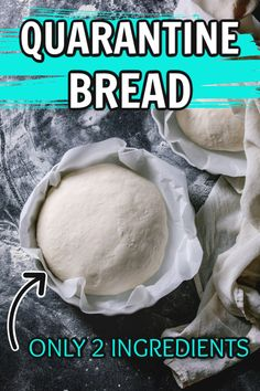 How to Make Bread Without Yeast? This is a simple bread recipe. This no yeast bread recipe is perfect for making things like pizza bagels and even cinnamon buns. Low calorie and fat free! No Yeast Bread, Yeast Bread Recipes, Biscuit Bread, Bread Baking, Homemade Bread Without Yeast, Easy Bread Machine Recipes, No Yeast Pizza Dough, Yeast Free Breads, Amish Recipes