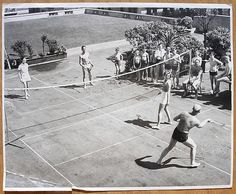 Badminton game (1936)  If you are a Badminton Lovers, check out this Badminton collection, you may like it :)  https://etsytshirt.com/badminton  #badminton #christmasgifts #xmasgifts