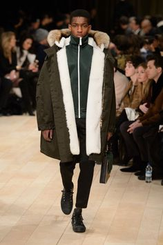 Burberry Puts Tracksuit at Center of Military Inspired Fall