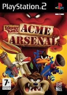 Looney Tunes ACME Arsenal (Sony PlayStation for sale online Looney Tunes, Nintendo 3ds, Juegos Ps2, Arcade, Marvin The Martian, Thing 1, Wii Games, Playstation Games, E 10