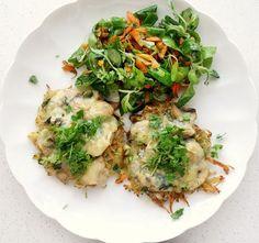 Kartoffel-Rösti und Champignons mit Käse überbacken - Rezept - kochbar.de