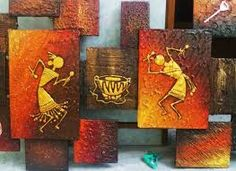 Image result for warli painting murals
