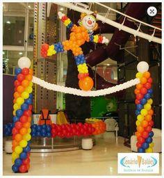 Circus Balloon Arch